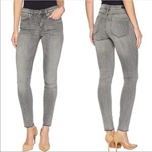 Blank NYC The Bond Mid Rise Skinny Gray Jeans